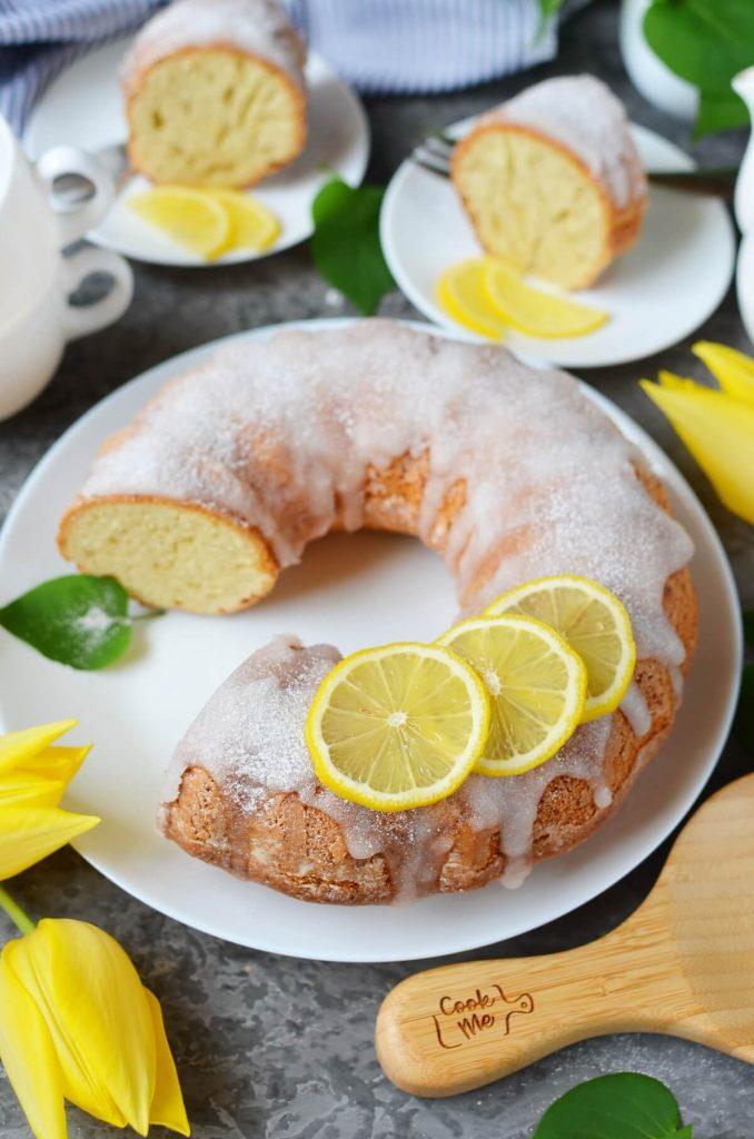Moroccan Lemon Cake (Meskouta)