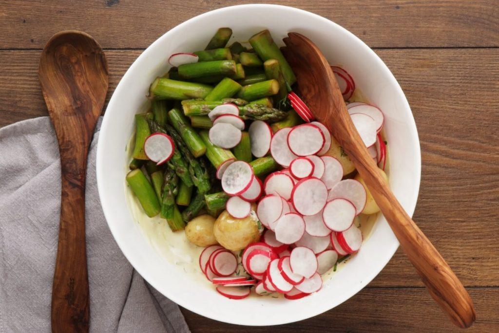 New Potato Salad with Asparagus recipe - step 5