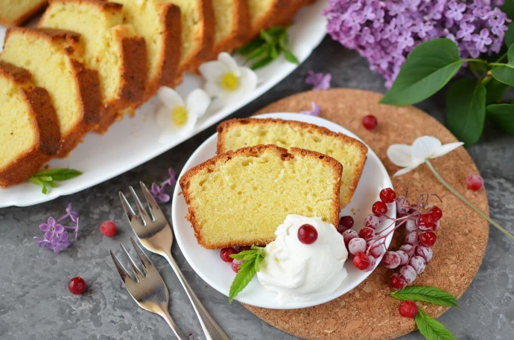 How to serve Pound Cake