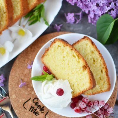 Pound Cake Recipe-How To Make Pound Cake-Delicious Pound Cake