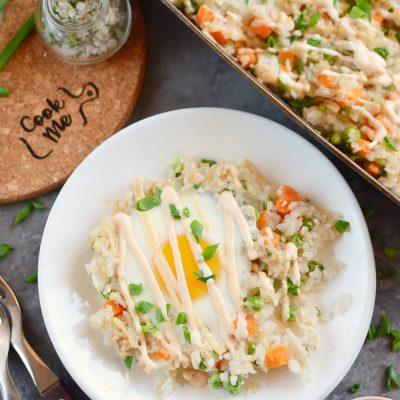 Sheet Pan Fried Rice Recipe-How To Make Sheet Pan Fried Rice-Delicious Sheet Pan Fried Rice