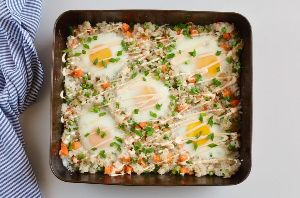 How to serve Sheet Pan Fried Rice