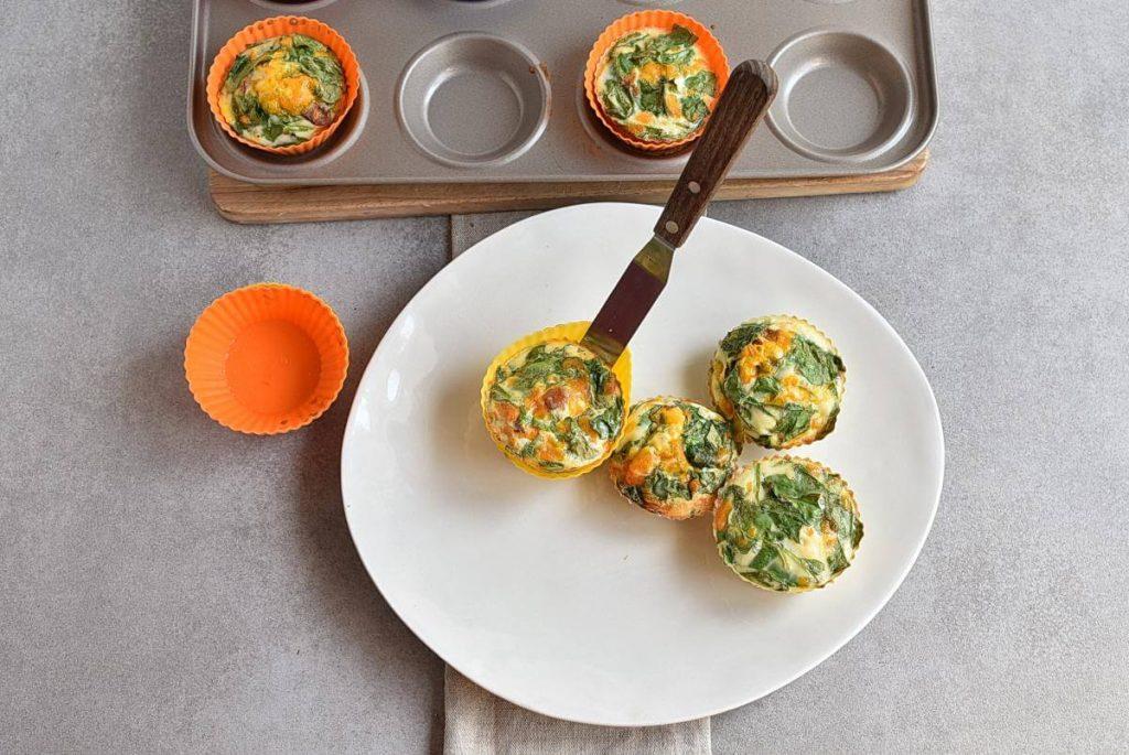 Keto Spinach and Bacon Mini Quiches recipe - step 6