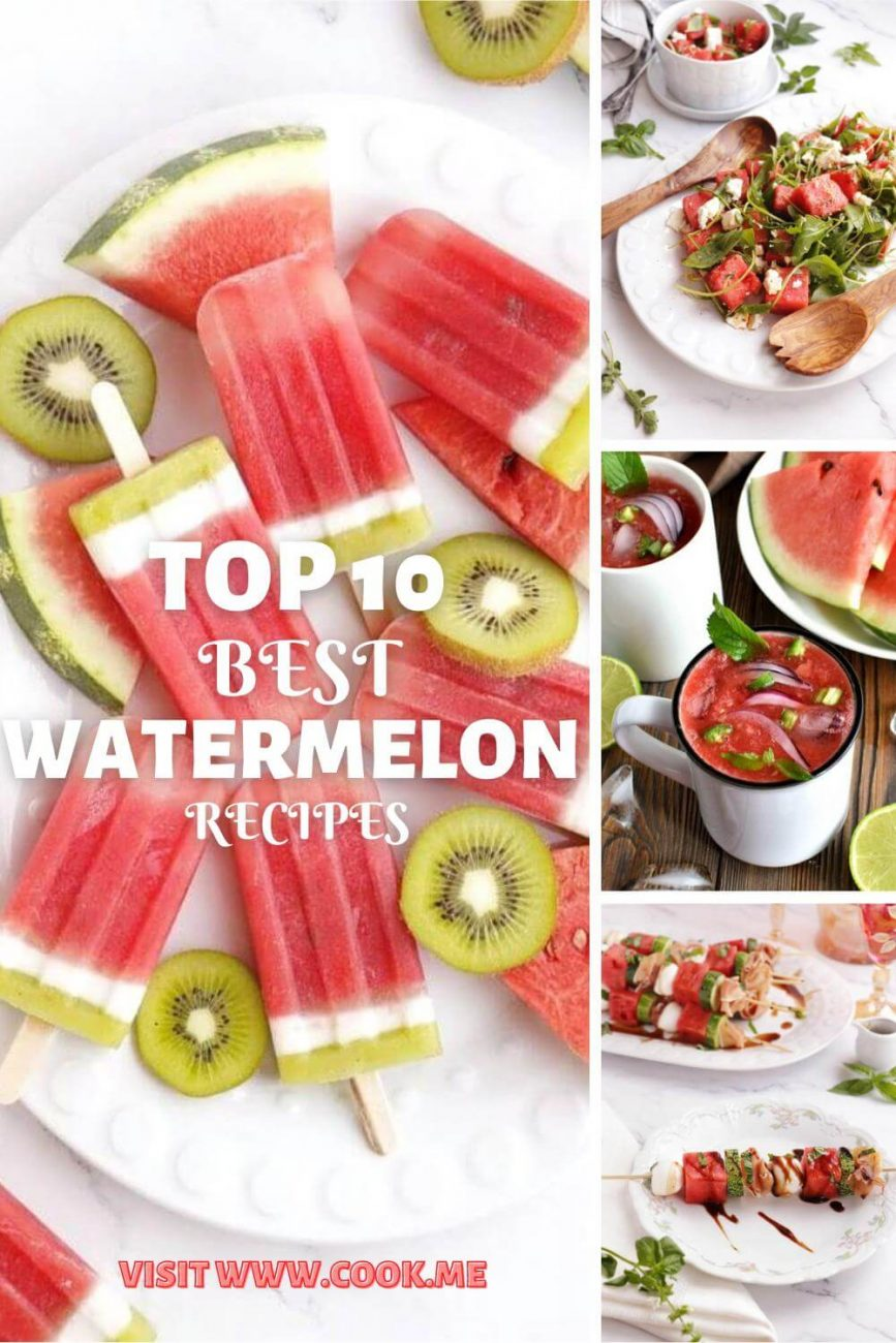 TOP 10 Best Watermelon Recipes-Easy Watermelon Recipes-Genius Things to Do with a Watermelon