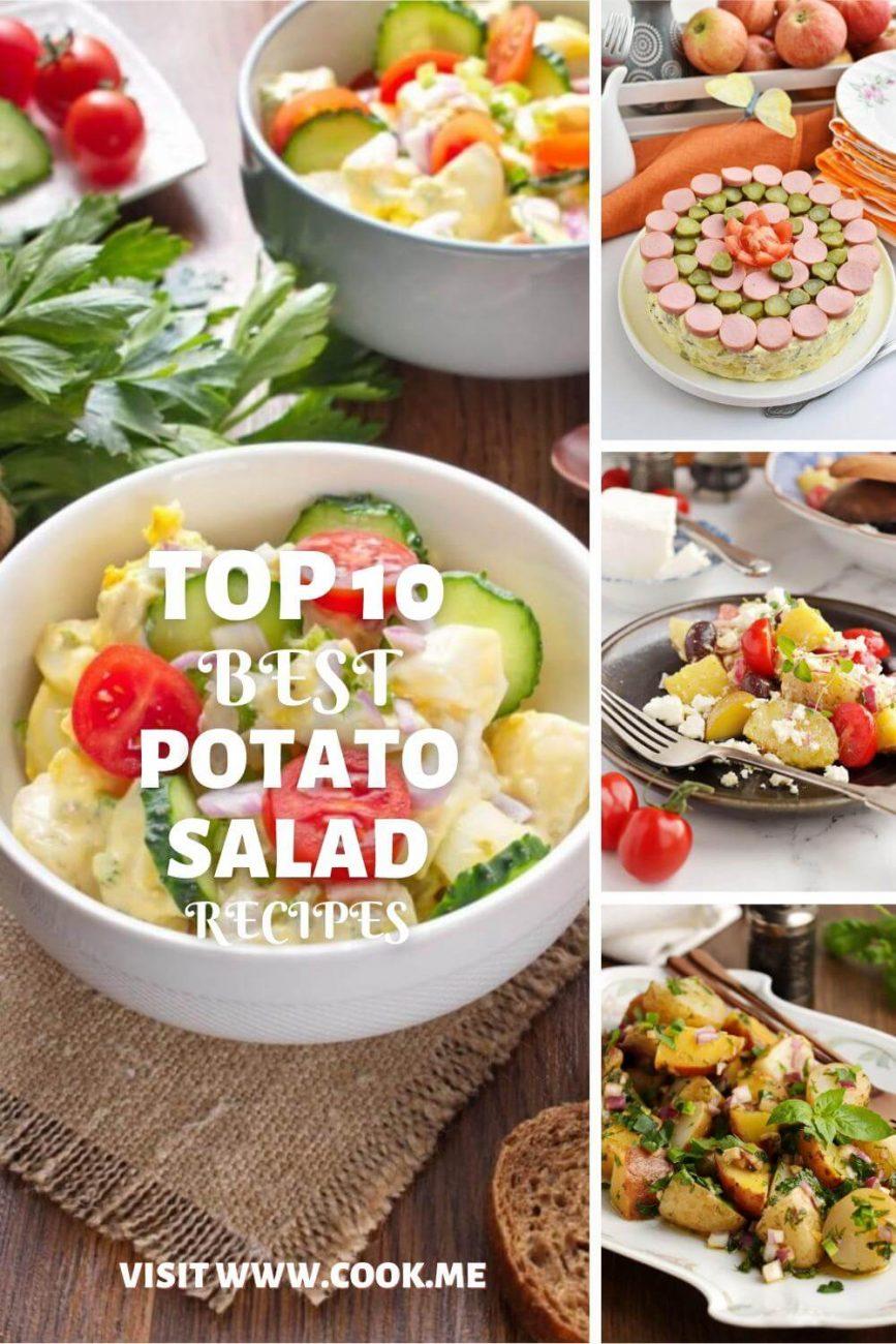 TOP 10 Potato Salad Recipes-Perfect potato salad recipes for the ultimate BBQ-World's Best Potato Salad Recipes