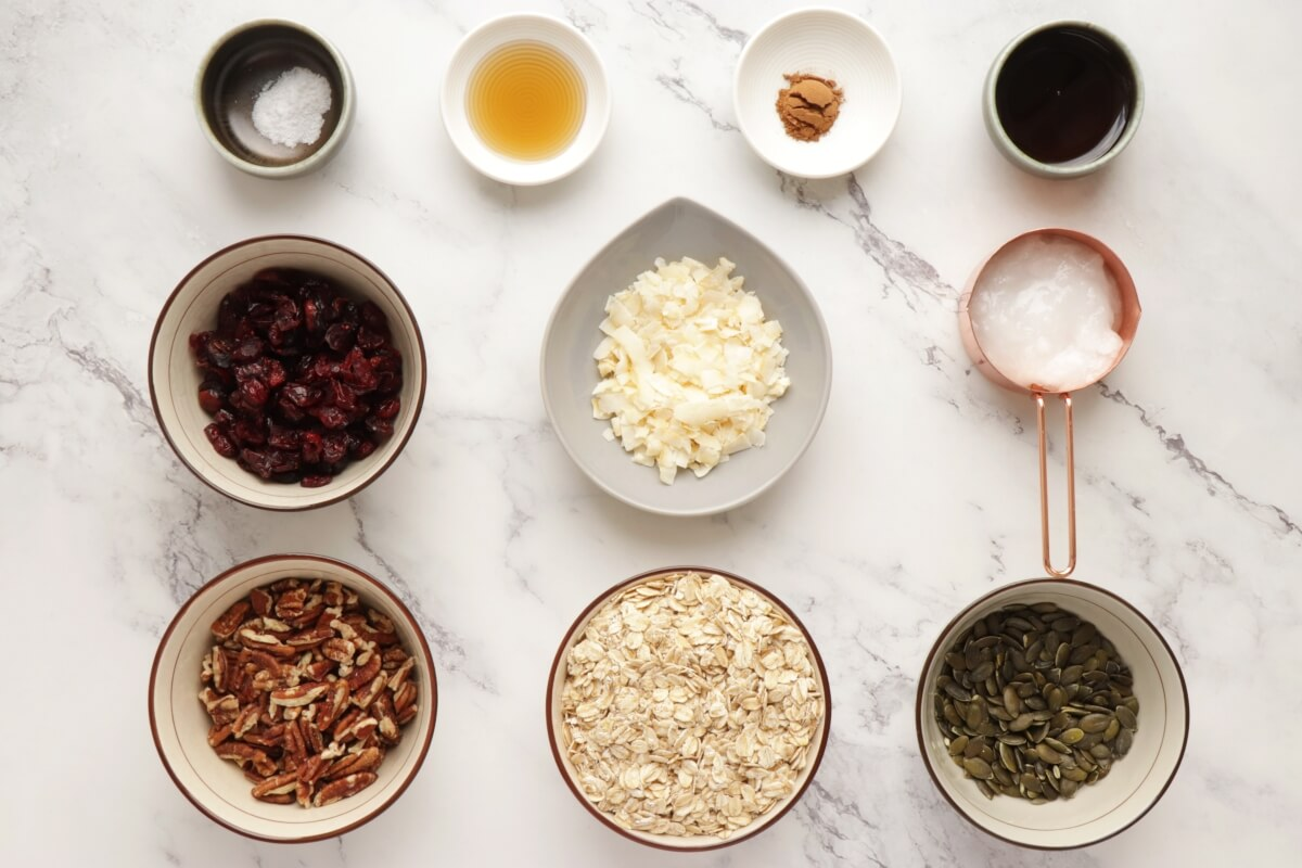 Ingridiens for The Very Best Granola