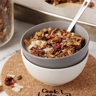 The Very Best Granola Recipe-Healthy Granola-Easy Homemade Granola-Gluten Free Granola