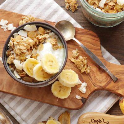 Tropical Coconut Granola Recipe-Homemade Tropical Coconut Granola-Homemade Coconut Granola