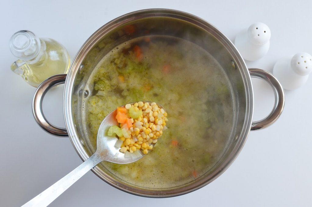 Ukrainian Split Pea Soup recipe - step 4