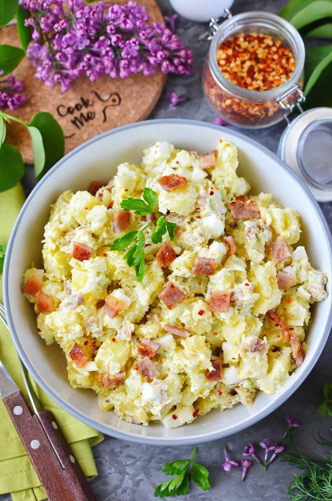 Ultimate Avocado Potato Salad