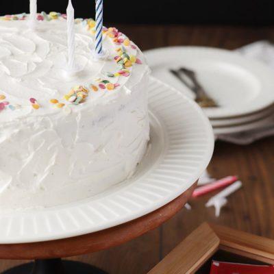 Vanilla Cake Recipe-Best Vanilla Cake-Best Birthday Cake-Easy Vanilla Cake