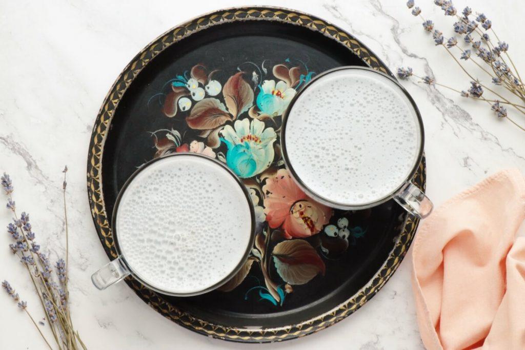 How to serve Vegan Blue Moon Milk