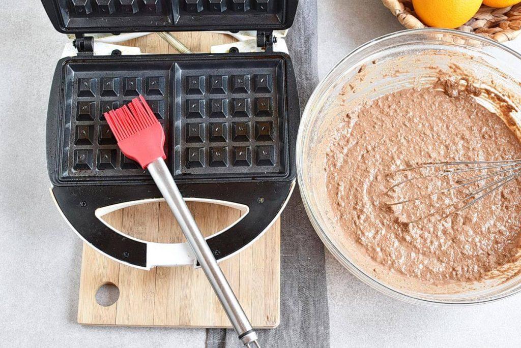 Vegan Chocolate Orange Waffles recipe - step 1