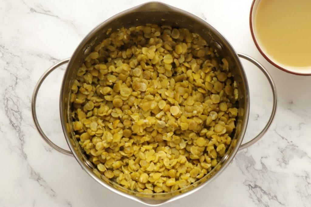 Vegan Green Split Pea Hummus recipe - step 1