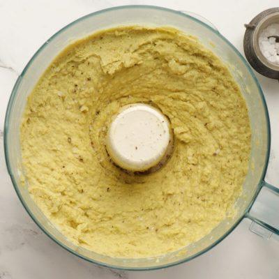 Vegan Green Split Pea Hummus recipe - step 3