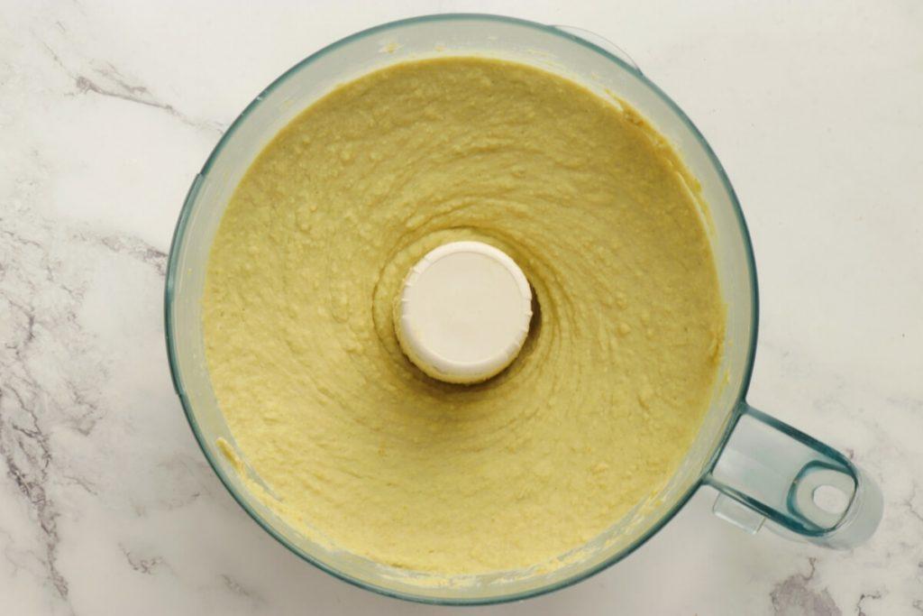 Vegan Green Split Pea Hummus recipe - step 4