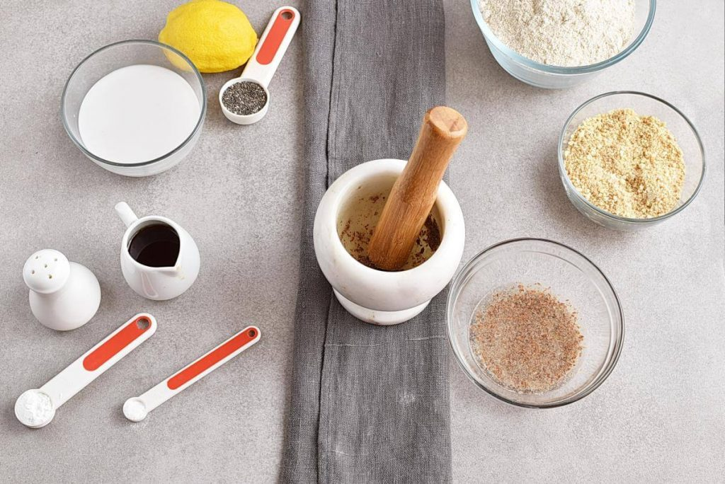 Vegan Lemon Poppy Seed Cake recipe - step 2