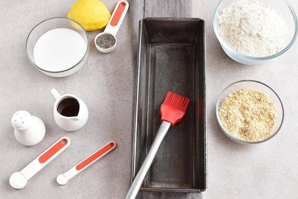Vegan Lemon Poppy Seed Cake recipe - step 1