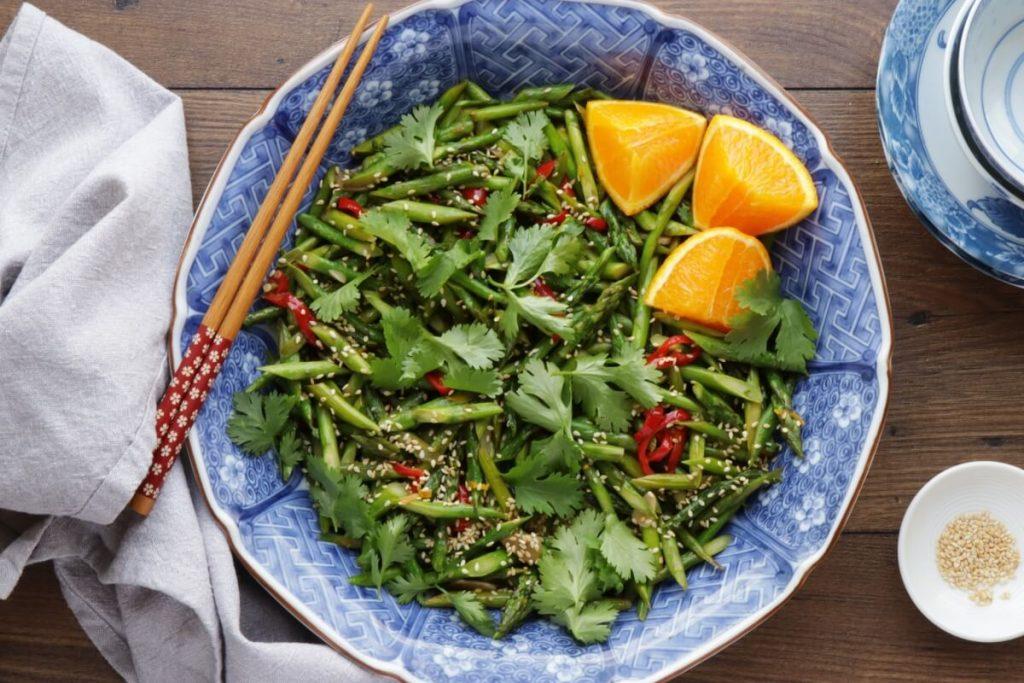 How to serve Asparagus Stir-Fry