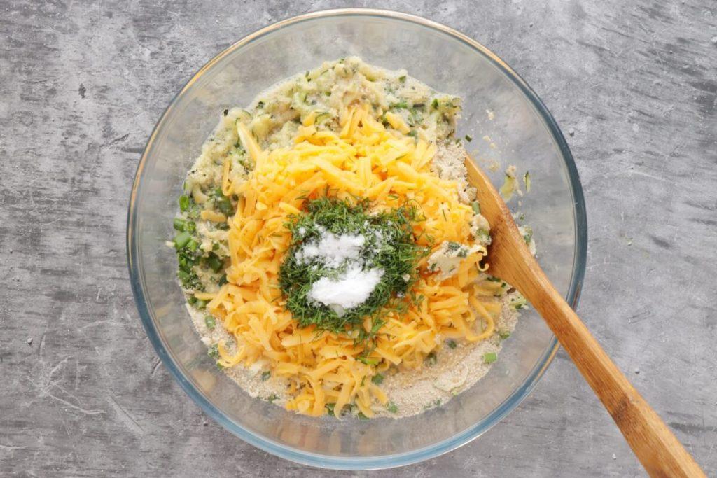 Cheesy Garlic Zucchini Bites recipe - step 2
