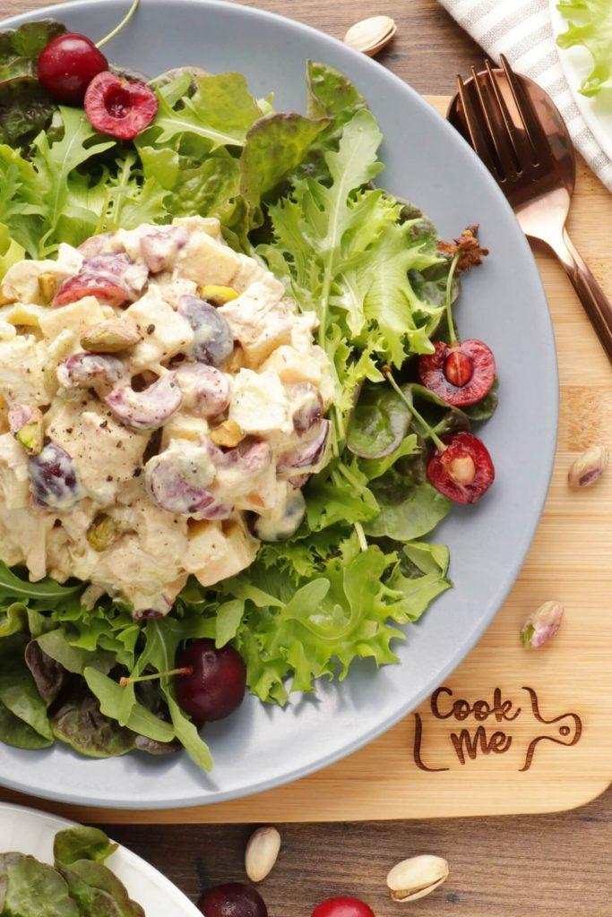 Cherry Greek Yogurt Curry Chicken Salad