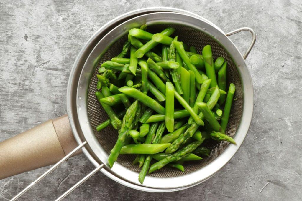 Creamy Polenta with Asparagus recipe - step 3