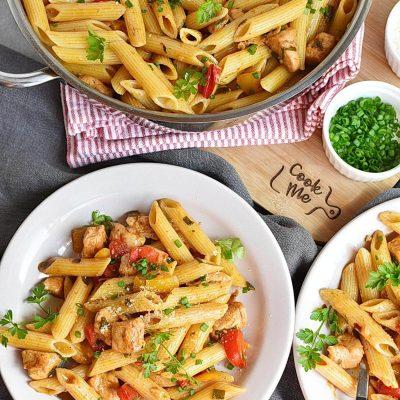 Creamy Rasta Pasta Recipes– Homemade Creamy Rasta Pasta–Easy Creamy Rasta Pasta