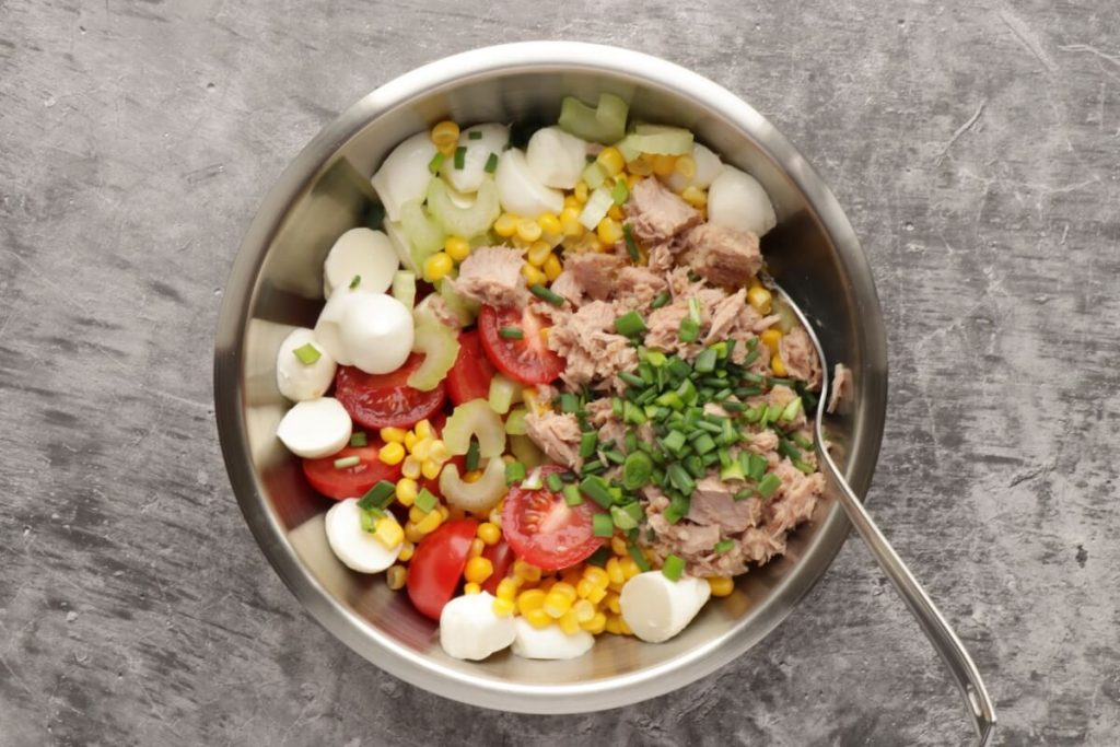 Easy Italian Tuna Corn Salad recipe - step 1