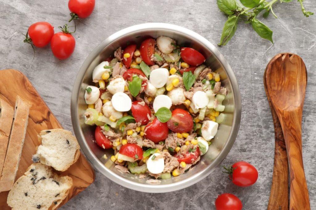 How to serve Easy Italian Tuna Corn Salad