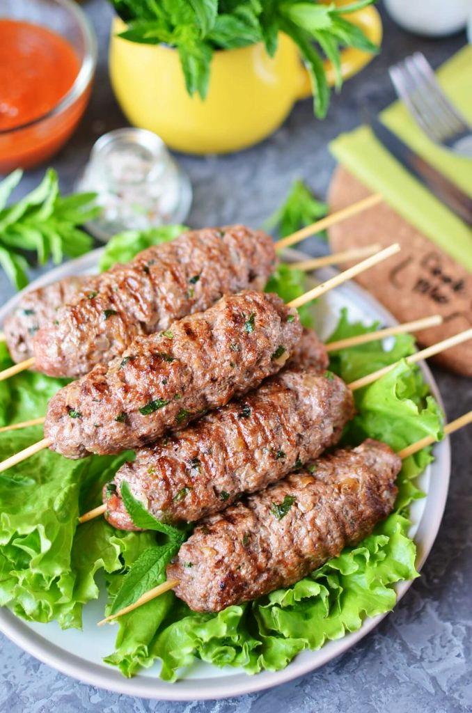 Tender and spicy kebabs