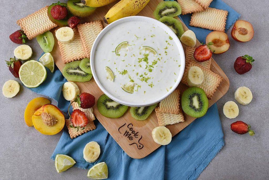 How to serve Fresh Key Lime Greek Yogurt Dip