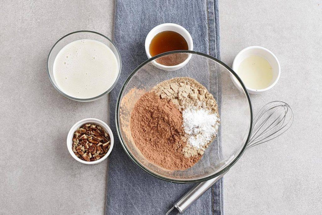 Gluten Free Chocolate Buckwheat Waffles recipe - step 2