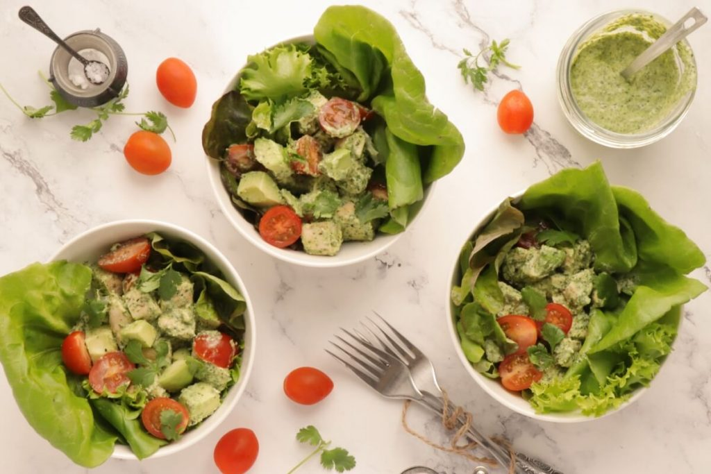 How to serve Green Goddess Chicken Salad