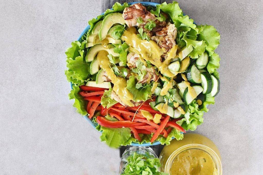 Grilled Chicken Mango Salad recipe - step 4