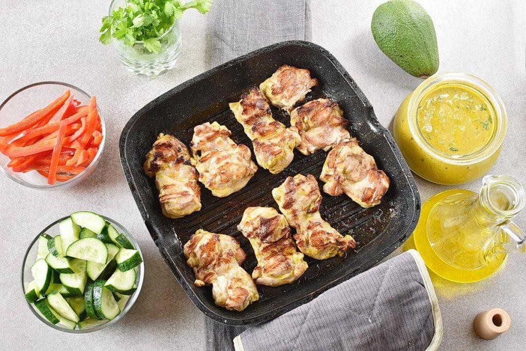 Grilled Chicken Mango Salad recipe - step 2