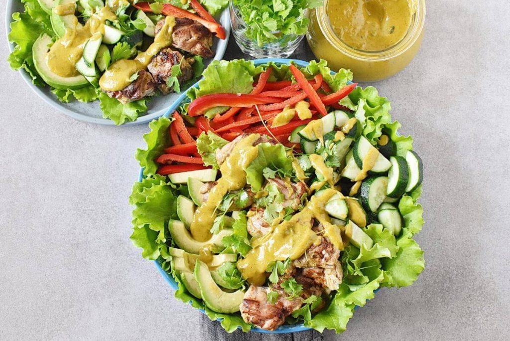 Grilled Chicken Mango Salad recipe - step 5