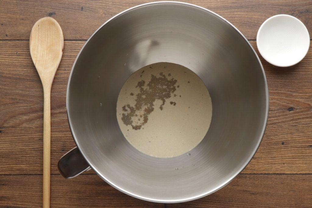 Homemade Black Olive Bread recipe - step 1