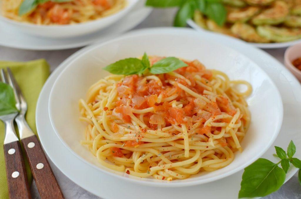 How to serve Italian Marinara Sauce