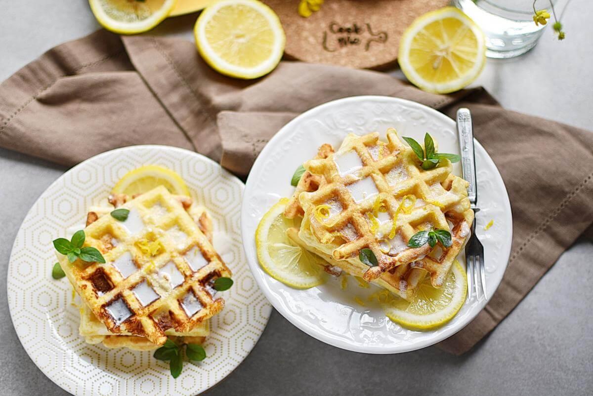 Keto Lemon Cake Chaffles Recipes– Homemade Keto Lemon Cake Chaffles–Easy Keto Lemon Cake Chaffles