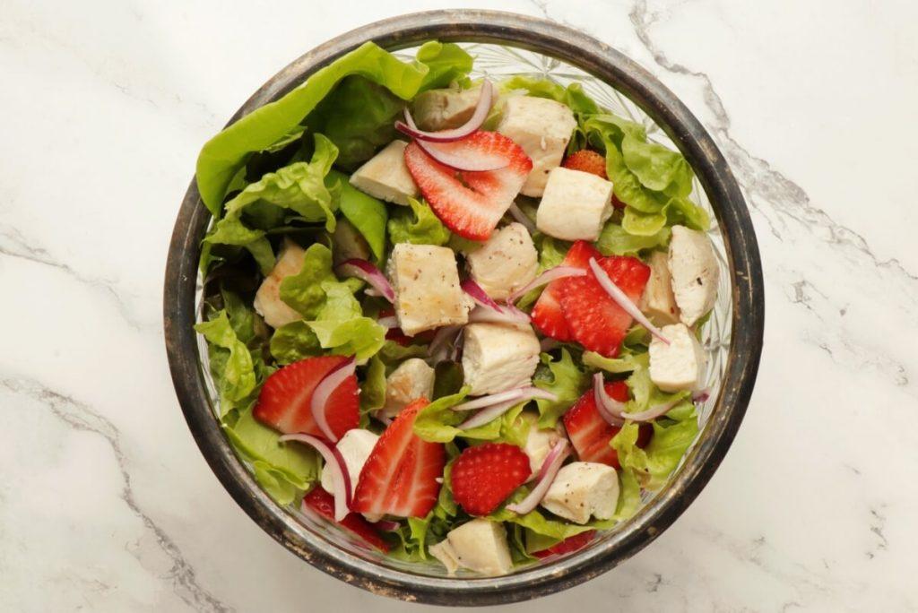 Keto Strawberry Chicken Poppyseed Salad recipe - step 1