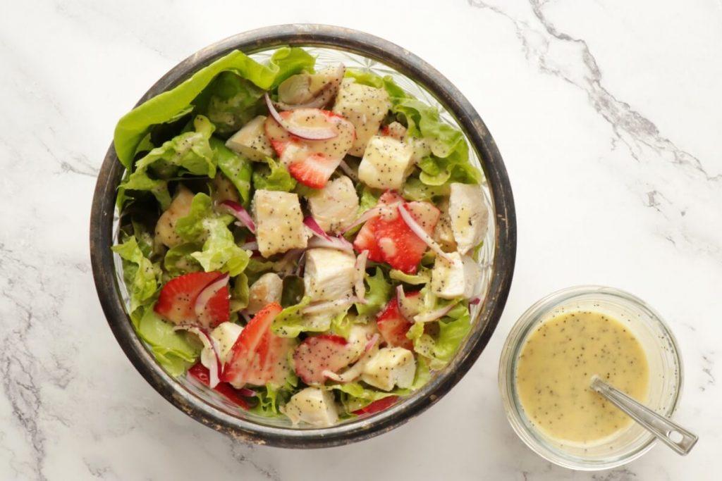 Keto Strawberry Chicken Poppyseed Salad recipe - step 5