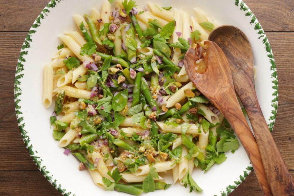 Lemon Asparagus Pasta Salad recipe - step 7