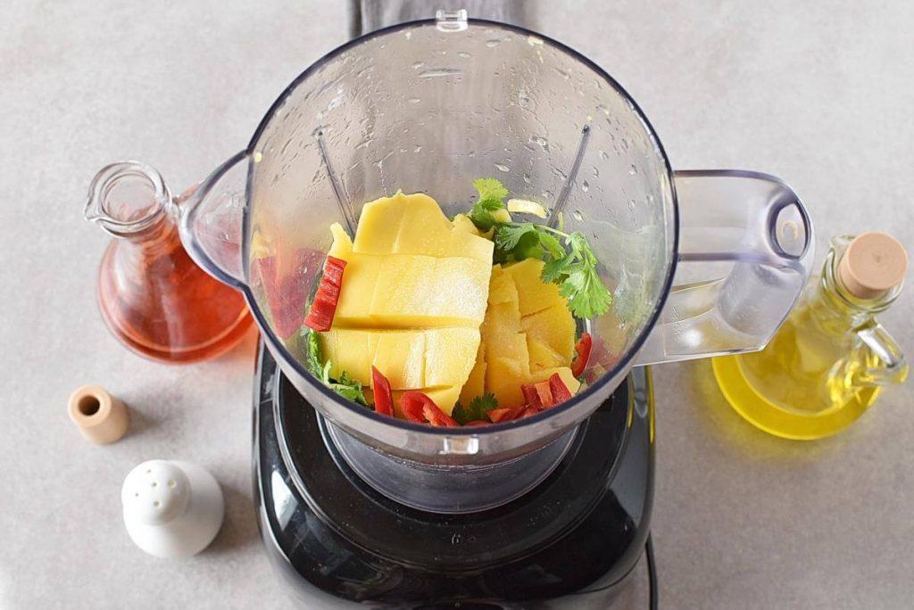 Creamy Mango Cilantro Salad Dressing recipe - step 1