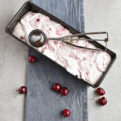 No-Churn Cherry Chunk Amaretto Ice Cream recipe - step 3