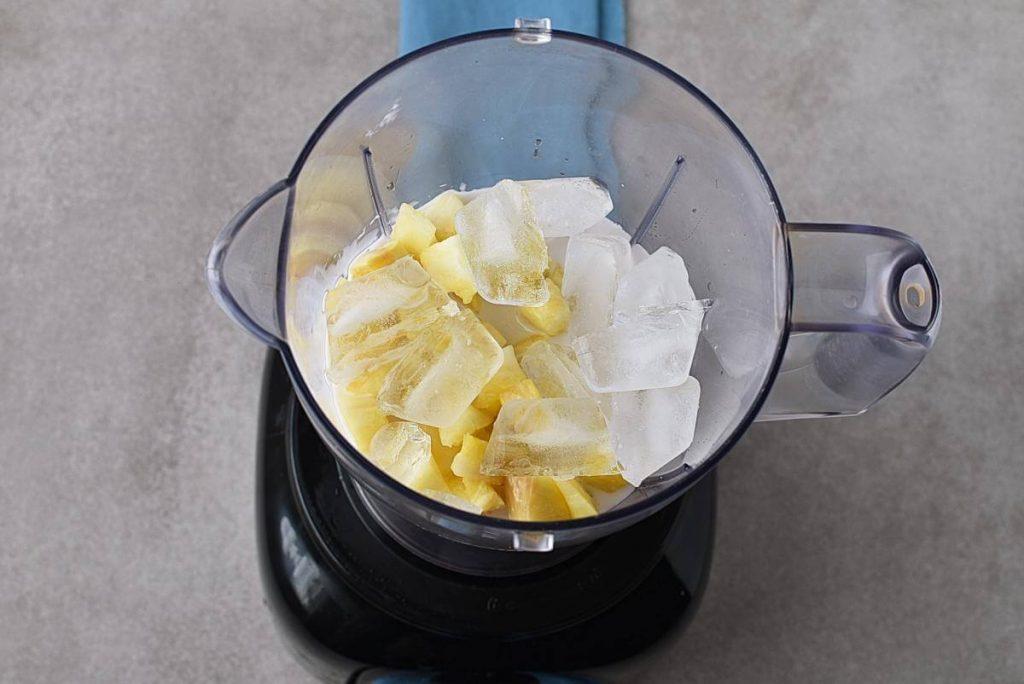 Pineapple & Mango Smoothie recipe - step 1