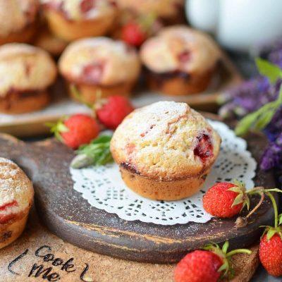 Strawberry-Lemonade Muffins Recipe-How To Make Strawberry-Lemonade Muffins-Delicious Strawberry-Lemonade Muffins