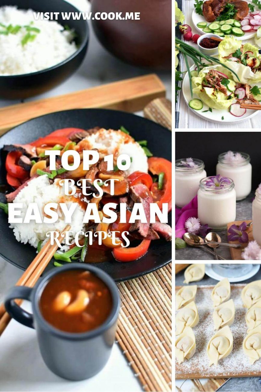 TOP 10 Easy Asian Recipes-Easy Asian Food Recipes - Best Asian Dinner Ideas