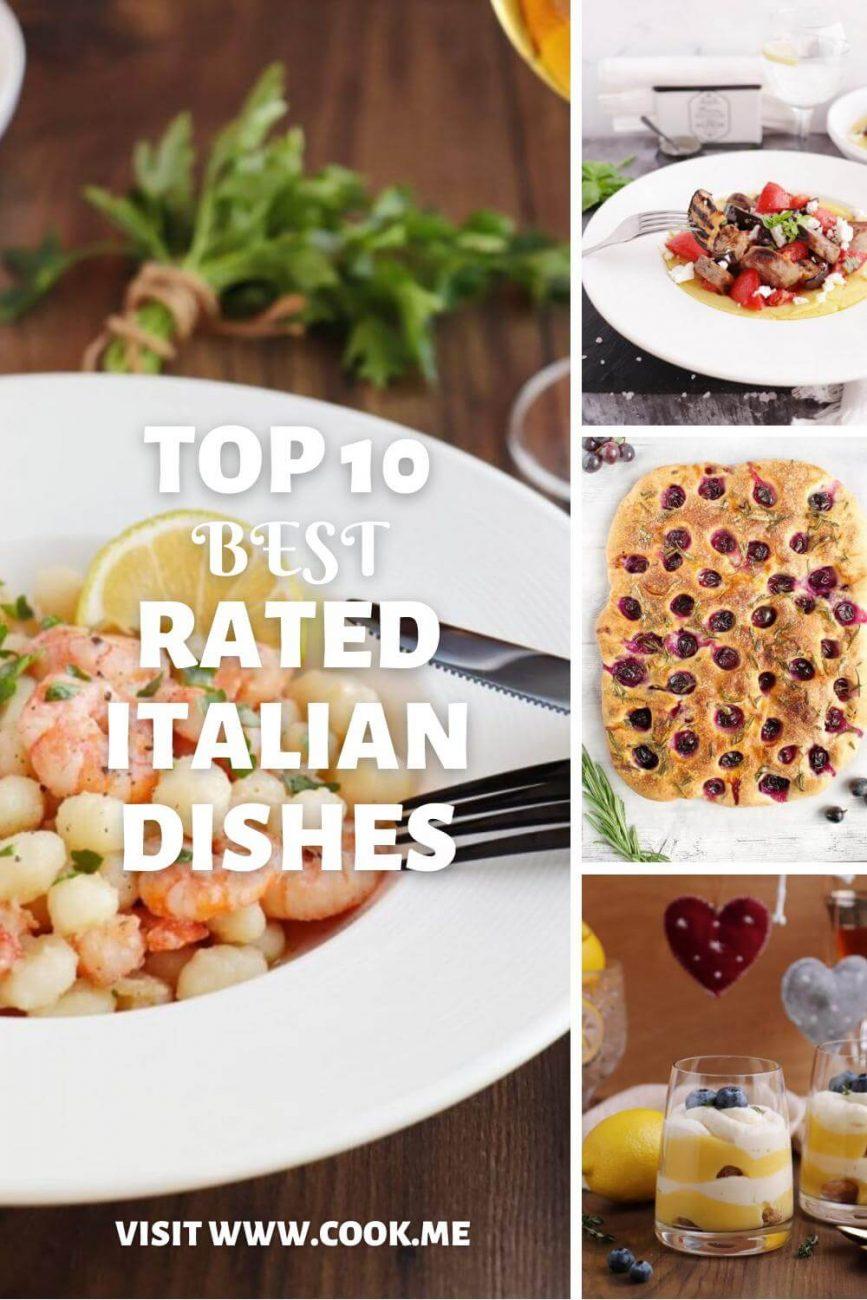 Top 10 Best Rated Italian Dishes- Best Italian Food Recipes-Easy Italian Recipes