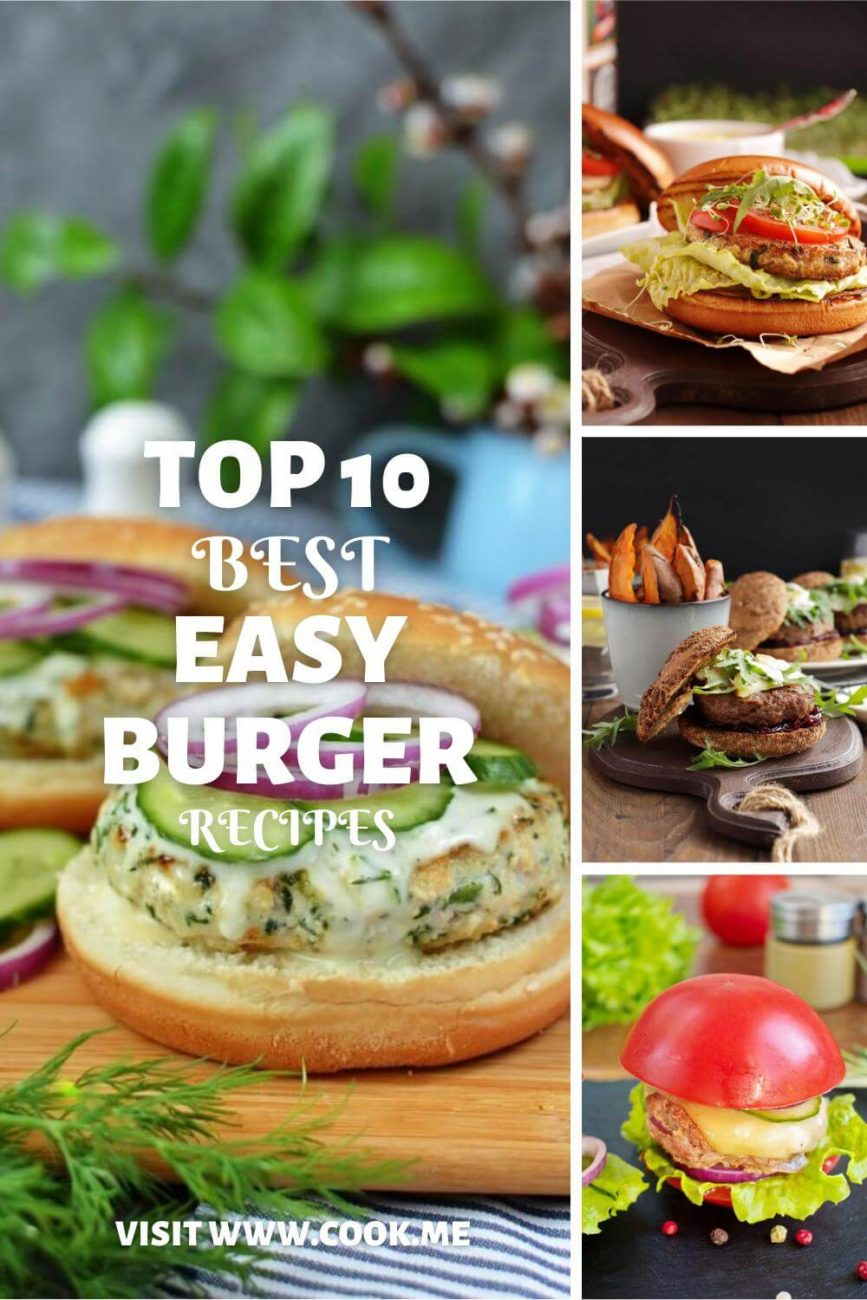 Top 10 Burger Recipes-Best Hamburger Patty Recipe-The Perfect Burger Recipe