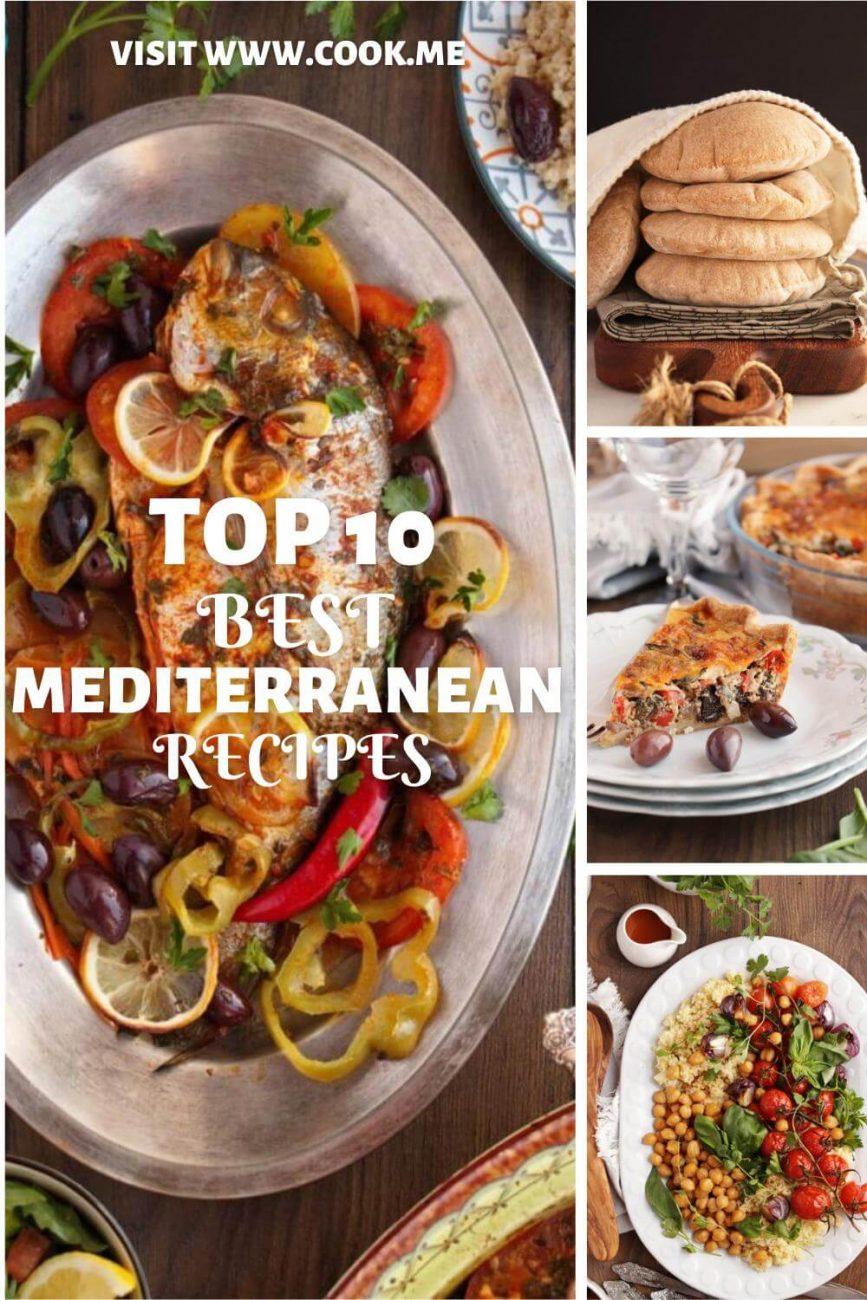 Top 10 Mediterranean Recipes-Most Popular Mediterranean Recipes-Favorite Mediterranean Food Recipes